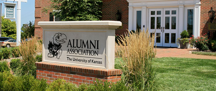 Alumni Association sign