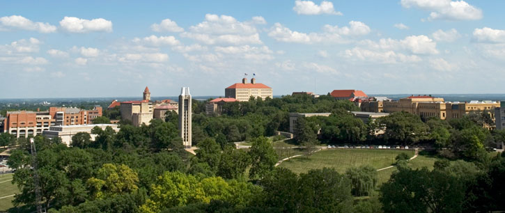 lawrence campus skyline