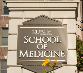 School of Medicine sign