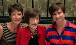 From left, Sheri Lee, Barbara Meek and Mindy Piontek