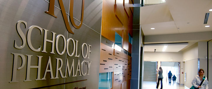 School of Pharmacy donor wall