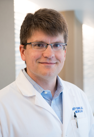 Jeffrey Burns, M.D., co-director of the KU Alzheimer's Disease Center