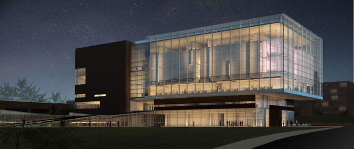 Health Education Building rendering