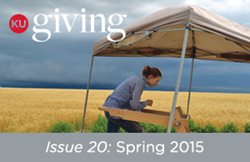 KU Giving Issue 20: Spring 2015