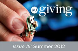 KU Giving Issue 15: Summer 2012