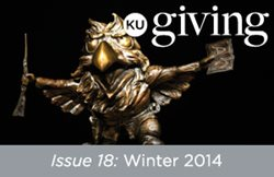 KU Giving Issue 18: Winter 2014