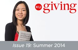 KU Giving Issue 19: Summer 2014